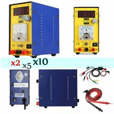 LOT 15V 1A DC Power Supply Regulated Digital Precision Variable Test Equipment T