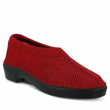 Spring Step TENDER Womens Red Mesh Comfort Pull On Shoes