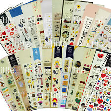 25Styles Sonia Suatelier Diary Deco Stickers Decoration Labels Scrapbook Journal