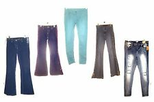 Mudd Blue Jeans w/Lace Up Sides Colored Jeans Distressed Jeans Sizes 5 to 17