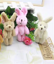 2 PC Wedding Gift Joint Rabbit Pendant Plush Stuffed TOY Soft Rabbit For Kid GT
