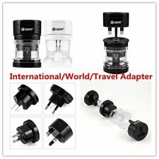 Universal Portable UK US AU EU Power Socket Plug Adapter Travel Converter LN