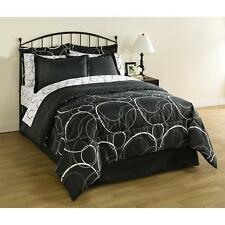 8 Pieces Bedding Set Twin Full Queen King Size Sheets comforter Pillow Case Sham