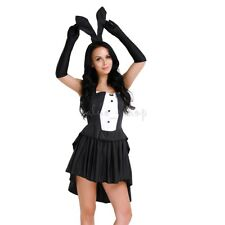 Womens Sexy Bunny Dress Costume Rabbit Cosplay Fancy Halloween Party Dress Up
