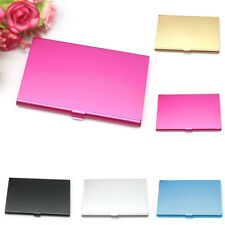 Aluminum Metal Pocket Case Box Business ID Credit Card Waterproof Wallet Holder