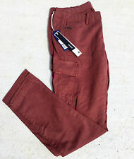 Womans G STAR RAW Stretch TROOPER Skinny Ladies Cargo Jeans Bordeaux