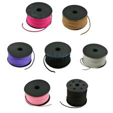 3mm Velvet Leather Cord Thread Jewelry Necklace Making Beading String Crafts