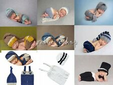 Newborn Baby Girls Crochet Knit Costume Photo Photography Prop Outfit Xmas Gift