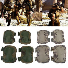 Protective Tactical Military Paintball Skate Cycle Elbow Knee Pad Combat Army