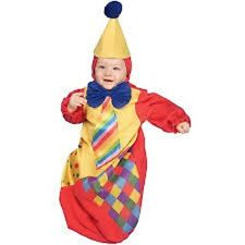 Clown Baby Bunting Costume Party Halloween New