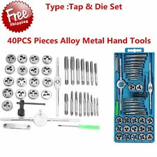 40 Pc METRIC Tap And Die Set Bolt Screw Extractor/Puller Kit New Removal LO