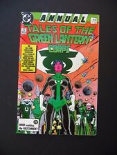 Tales of the Green Lantern Corps Annual #3  NM-  1987  High Grade DC Comics