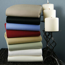 1000TC EGYPTIAN COTTON US-BEDDING ITEM ALL SIZE ITEMS AND BRAND NEW SOLID COLORS