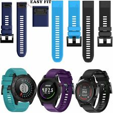 Replacement Silicone Watch Band Strap for Garmin Fenix 5/Approach S60 Golf GPS
