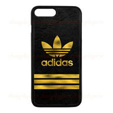 New Adidas Gold Logo For iPhone 7 7+ 8 8+ Hard Plastic Protect Cover Case