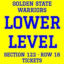 GOLDEN STATE WARRIORS vs DENVER NUGGETS · SATURDAY 12/23 · LOWER LEVEL TICKETS