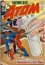 SHOWCASE #36 1962 FN Gil Kane THE ATOM 3RD SILVER AGE APPEARANCE