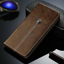 Luxury PU Leather Case Magnetic Flip Card Wallet Pouch Cover For Samsung/iPhone
