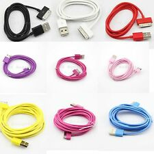 New 3ft 6ft 10ft USB Sync Data Charger Cable For Apple iPhone4S 3GS iPod 0810