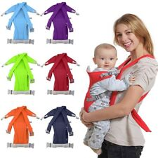 3-16 Month Infant Baby Carrier Sling Wrap Rider Backpack Front/Back Pack Soft CV