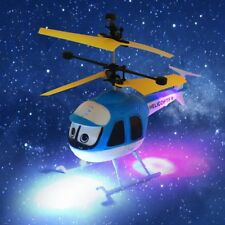 Toy RC Helicopter Cartoon Remote Control Drone Kid Plane Toy Induction Flying SA