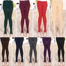 Skinny Slim Thick Stirrup Leggings Women Tight Warm Winter Stretch Pants E5T1