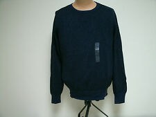 Ruffian for Threads & Heirs Men's Sweater Navy Black