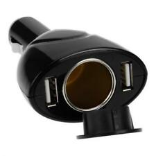 For AT&T PHONES - CAR CHARGER SOCKET PLUG SPLITTER POWER ADAPTER TWO PORT