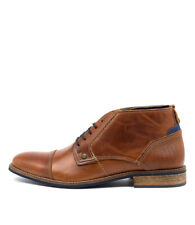 New Wild Rhino Digby Tan Mens Shoes Casual Boots Ankle