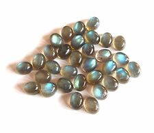 Natural Labradorite Oval Cab Lot Loose Gemstone Flashing Labradorite Cabochon