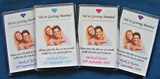 Personalised Wedding Favour - Save The Date - Fridge Magnet