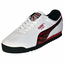 PUMA Roma SL NBK 2 Wild Mens Shoes White Sneakers