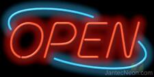 Open Neon Sign Retail Restaurant Bar Spa Beauty Salon Jantec USA Free Shipping