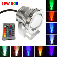 Underwater IP68 Waterproof 10W RGB LED Food Spot Light Outdoor Garden Lamp 12V