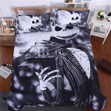 Disney Nightmare before Christmas Jack Skellington Duvet Cover Sets Full/Queen