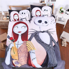 The Nightmare before Christmas Jack Sally Duvet Cover Bedding Set Pillow Cases