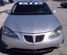"Pontiac Grand Prix GTP Supercharged Windshield Banner Decal 4"" x 38"""