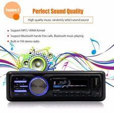 Car Bluetooth Stereo MP3 Player FM Radio AUX USB SD Handsfree Remote Control NEW