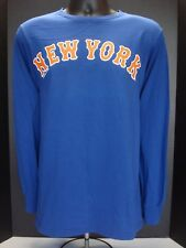 New York Mets Majestic Long Sleeve Adult Tee - NWT - FREE SHIPPING!