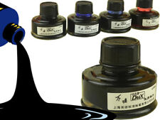 50ml Fountain pen ink  glass bottle 4 colors to choose Free Shipping