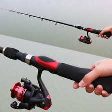 Carbon Fiber Portable Combos Telescopic Fishing Rod Pole with Spinning Reel