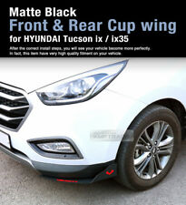 Canard Front Rear Cup wing Body Kit Black For HYUNDAI 10-13 Tucson ix / ix35