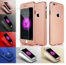 Hybrid 360 New Shockproof Case Tempered Glass Cover For Apple iPhone 8 7 6 5S SE