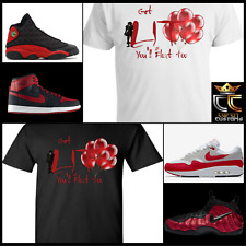 IT LIT TEE/SHIRT 3 to match BLACK/RED NIKE/AIR MAX/KOBE/KD/LEBRON/JORDANS/ADIDAS