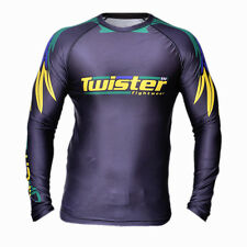 Twister Fight MMA , BJJ Rash Guards Long Sleeves Wet Suit Sports Wear Gym Shirt