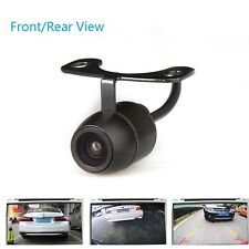 Front Rear Camera for Cars With Night Vision Waterproof Angle Plug in Monitor