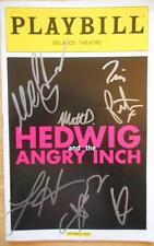 Michael C. Hall & Cast Signed Hedwig and the Angry Inch  Playbill Lena Hall 2014