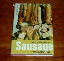 Mary Meade's Sausage Cookbook by Ruth Ellen Church 1967 Hardback