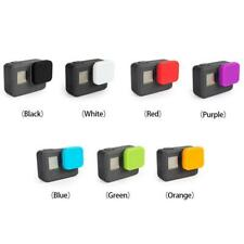 Soft Silicone Cover Protective Rubber Lens Covers Cap for GoPro Hero 5
