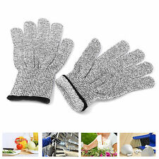 1 x Cut Resistant Gloves Anti-Cutting Level 5 Protection Anti Slash Safe Gloves